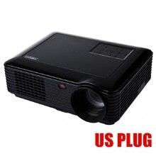 Taşınabilir Projektör LED Projektör Kablosuz Siyah GÜÇLÜ SV 228 Ev Sineması 4000 Lümen 1280*800 Piksel Multimedya LCD Projektör