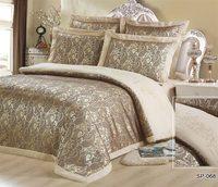 Silk Place Silk Satin 100 Cotton Luxurious Bedding Sets 4 5 6 7pcs RU Size Bedding