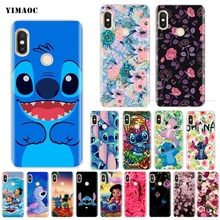 347883f2bbb YIMAOC Cute Lilo Stitch Case for Xiaomi Redmi Mi Note 6a 6 8 mix 2s a1