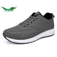 LANTI KAST New Arrivel Running Shoes Men Plus Fur Warm Sport Shoes Rubber Sole Non Slip