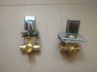 Wholesale 2 Types Shower Room Mixing Valve Round Or Square Bathroom Brass Bathtub Valves Faucet Master