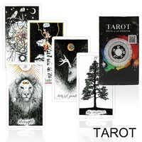 Yexing-cartas de tarot para adultos, juego de cartas de tarot desconocido, juego de mesa completo de la suerte misteriosa inglesa, juego familiar