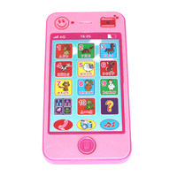 Abbyfrank Arabic Russian French Language Children Phone Mini Educational Musical Occurrence Toy Telephone Christmas Gift For