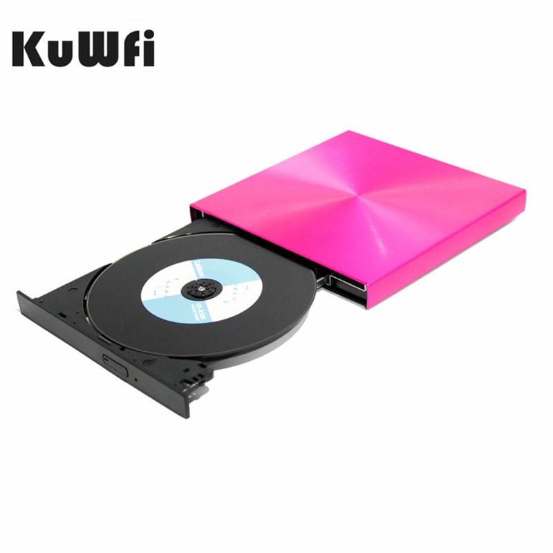 USB3.0 DVD Burner External DVD Reader CD ROM Player Optical Drive For MAC OS/Macbook/Apple Laptop/WIN 10/8/7/XP/Linux