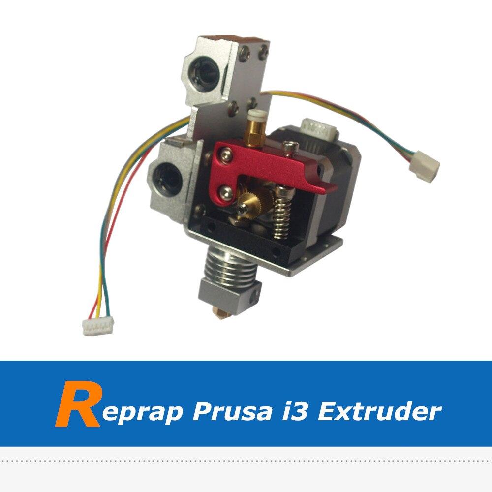 Reprap Prusa i3 3D Imprimante X Transport Plein-Extrudeuse De Métal Pour 1.75mm Filament