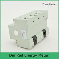 Modbus RTU Din Schiene MK LEM021GC tragbare digitale LCD drei phase energy meter|Energiezähler|   -