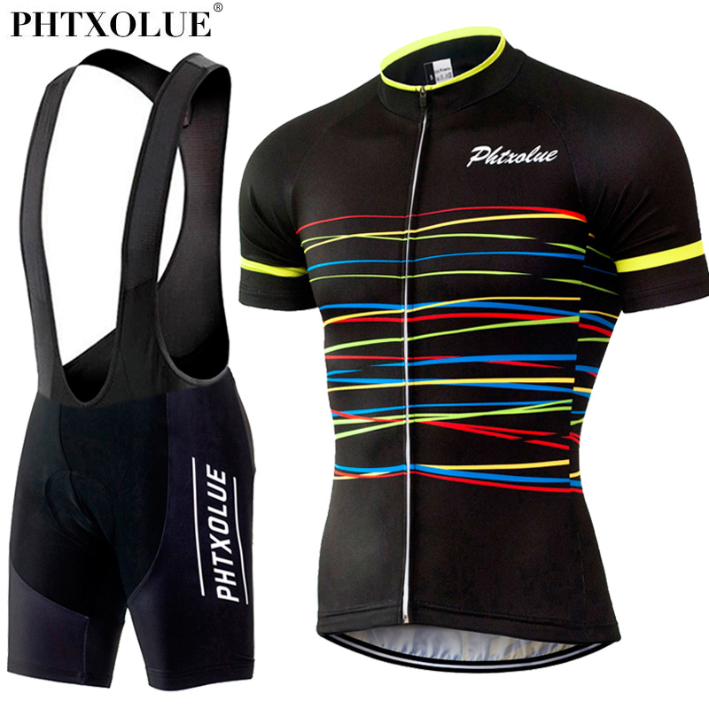 Phtxolue Cycling Sets Cycling Clothing Bike Clothing/Breathable Quick Dry Men Bicycle Wear Short Sleeve Cycling Jerseys sets 2016 team cycling jerseys long sleeve breathable bike clothing quick dry bicycle sportwear men cycling clothing ropa ciclismo page 6