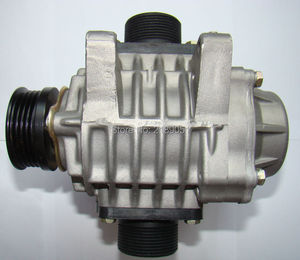 Image 4 - AISIN AMR300 mini Roots supercharger Compressor blower booster Turbocharger Kompressor Turbine Auto Car Snowmobile ATV 0.5 1.3L