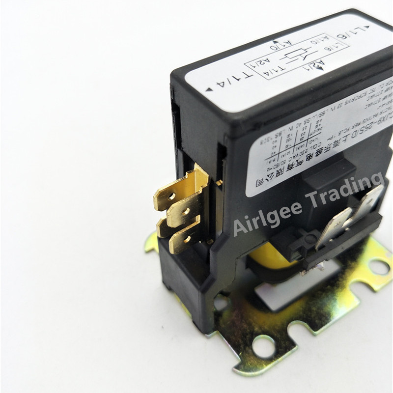 CJX9B-25S-C3 AC CONTACTOR Air Conditioner Coil Magnetic Contactor 220-240VAC