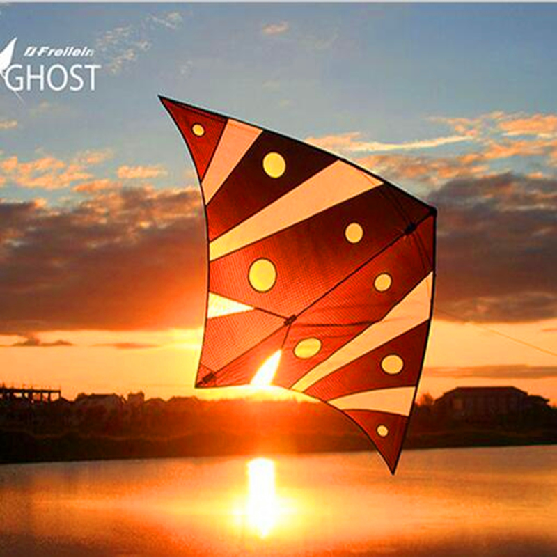free shipping high quality deep sea ghost kite flying indoor with handle line outdoor toys albatross kite factory eagle professional stunt kite designs outdoor sport power kite 4 line beach kite with handles flying line string