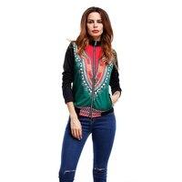 Spring 2017 Fashion Autumn Zipper Women Coat Outside The Single National Baseball Clothing Jacket Indie Folk