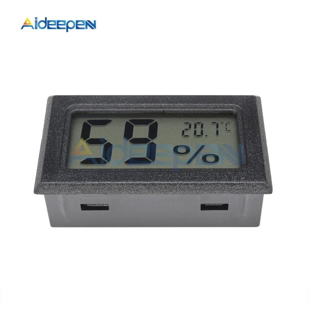 LCD Digital Thermometer Hygrometer for Freezer Refrigerator Fridge Temperature Sensor Humidity Meter Gauge Instruments Cable 16