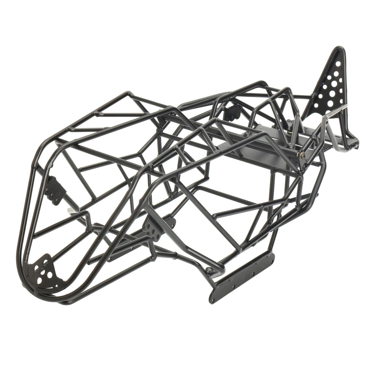 Châssis de châssis en acier noir pour châssis Axial avec RCX10 1/10 RC pièces de camion d'escalade de chenille de voiture de roche