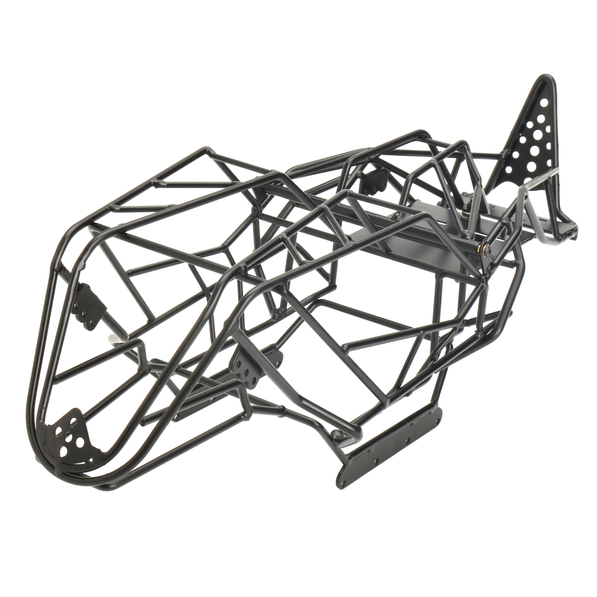 все цены на Steel Roll Cage Frame Body Black Steel Frame Body Chassis For Axial With RCX10 1/10 RC Rock Car Crawler Climbing Truck Parts онлайн