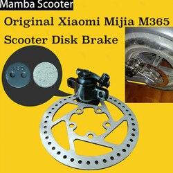 Original Xiaomi Mijia M365 Elektrische Smart Roller Disk Bremsscheibe Rotoren Pads Basis Sitz Clip Ersatz Teile für Skateboard