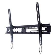 ТВ Кронштейн Kromax FLAT-2 new black (Настенный, наклонный, сталь, диагональ экрана 32-90 дюйма, расстояние от стены 4.2 см, угол наклона +3-10°, макс.нагрузка 65 кг)