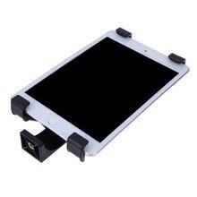 "ALLOET אוניברסלי Tablet Stand חצובה הר מחזיק סוגר 1/4 ""חוט Tablet חצובה מתאם מחשב מייצג Tablet עבור iPad"