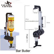 Wine Dispenser Machine Single Optic Rotary Alcohol Beverage Bar Butler Drinking Pourer Party Tool For Beer Soda Bar Accessory цены онлайн