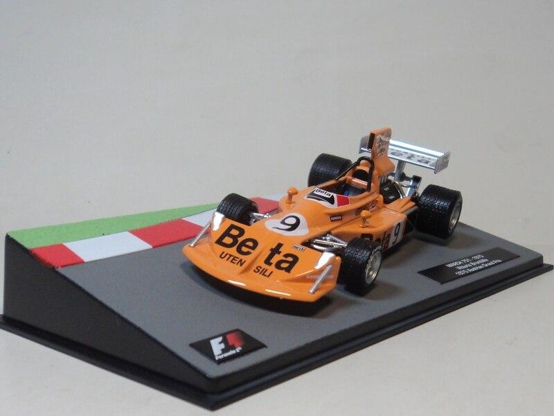1//43 IXO F1 MARCH 751 Vittorio Brambilla 1975 Austrian Grand Prix Diecast model