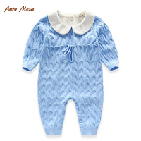 Hot Fashion Infant Boy Clothes Gentleman Bow One Piece Jumpsuit Thick Warm Newborn Winter Romper Formal
