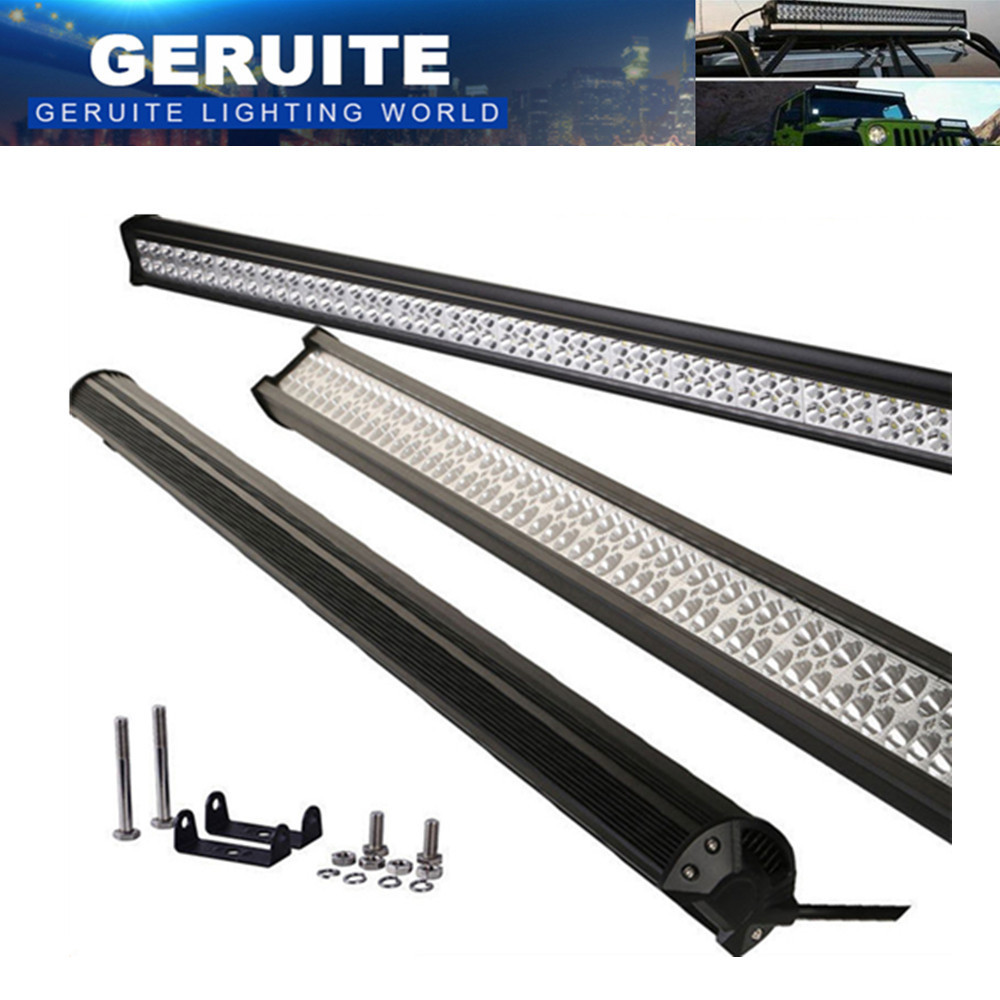 306 W Car Light Bar 102X3 W 30600 LM 12-24 V IP67 LED Work Light Flood Spotlight Dla Żeglarstwo Polowanie Wędkarstwo Ciężarówka Oświetlenie Zewnętrzne