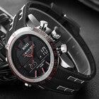 Men's Military Watch Waterproof Outdoor Sport Watches Men Dual Display Quartz Wristwatch Chronograph Sport Watch for Men