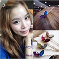 New Girls Lovely Colorful Bow Rabbit Ears Simple Charm Hairpin Fashion Hair Accessory Free shipping