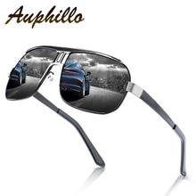 Mens Sunglasses Luxury Brand Designer Classic Retro Square Men Polarized Driving Glasses UV400 gafas de sol hombre