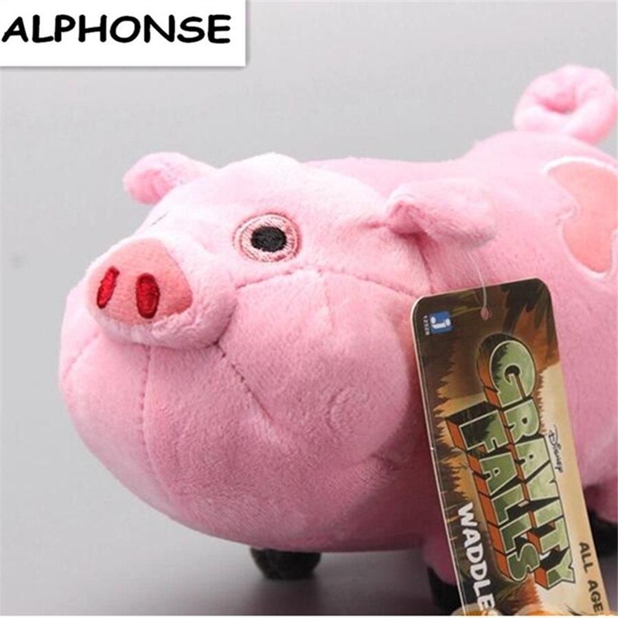 12pcs lot 16cm Gravity Falls Plush Toys Cute Pink Pig Waddles Stuffed Toy Kids Gift