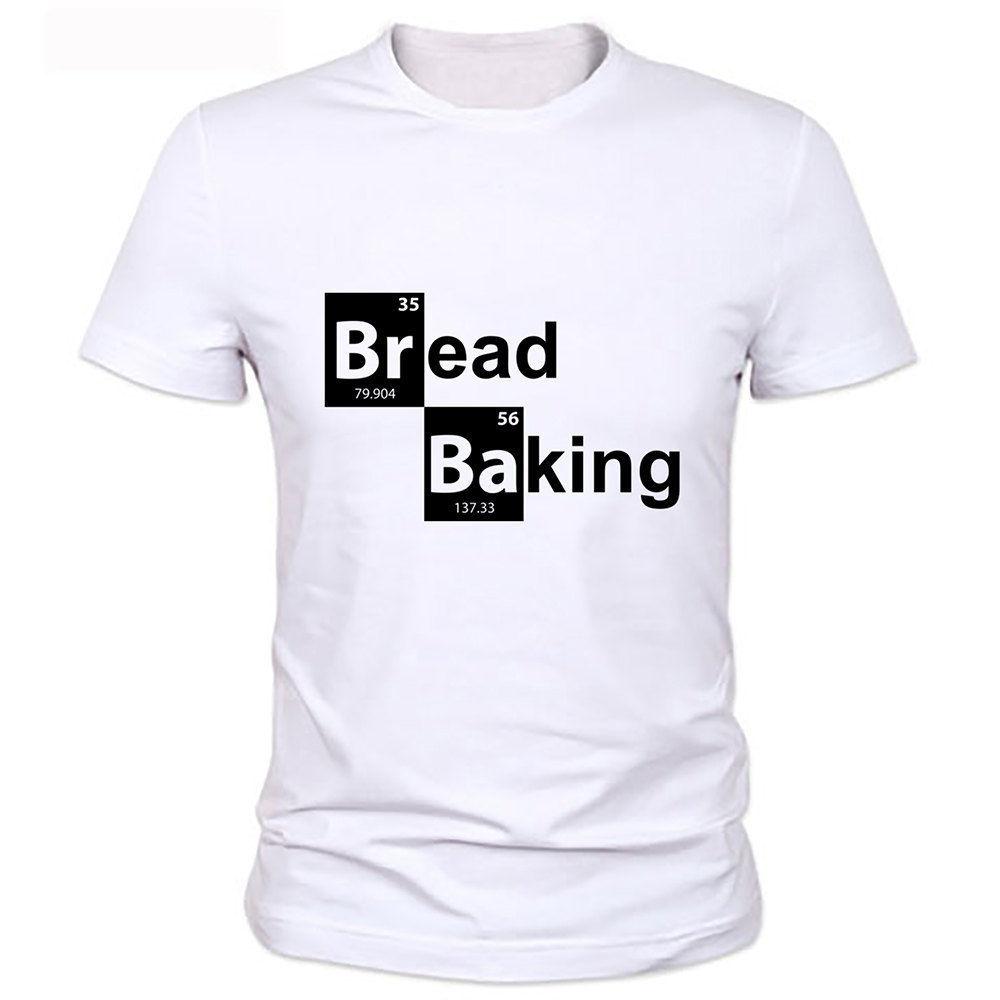 Breakin Bad Bread Baking Tv series Hesenberg Funny Joke Men T Shirt Tee