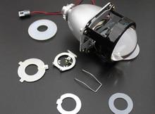 Full Metal Mini H4 H7 Projector 2.5 inches Leader HID Bixenon Projector Lens H1 5500K RHD LHD for Auto Headlight Car Headlamp