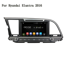 8″ Double Din Android 5.1.1 Car DVD Player HD Touch Screen 1080*600 Video GPS Navigation Wifi 3G/4G For Hyundai Elantra 2016