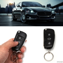 Universal Car Alarm Systems Auto Keyless Entry System Button Start Stop LED Keychain Central Kit Door Lock with Remote Control все цены