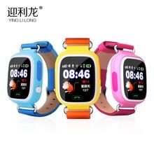 Pantalla táctil de 2016 Colores Q90 Q80 Q50 Reloj Inteligente Llamada SOS Localizador Localizador Dispositivo Rastreador GPS Kid Safe Anti Perdido Monitor
