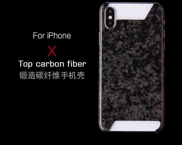 buy popular 4e4a1 a8c6c US $35.59 11% OFF|NEW Forged Composite Real Carbon Fiber Mobile Phone Case  Cover For iPhone X-in Outdoor Tools from Sports & Entertainment on ...