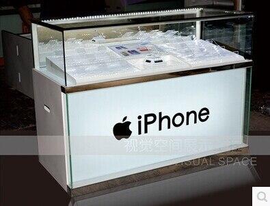 Amazing Custom Retail Store Cabinet Mobile Phone Display With LED Lighting Mobile  Phone Display Desk Mobile Phone