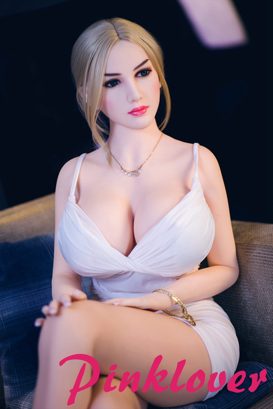 Pinklover 163cm Real Silicone Sex Dolls American Love Anal Vagina Pussy Oral Adult for Male Masturbation