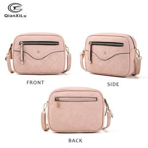 Image 2 - QIANXILU модные сумки через плечо для женщин 2019, вместительная сумка на плечо, сумка из искусственной кожи, женские сумки мессенджеры на молнии