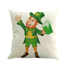 St. Patricks Day Decorative Cushion Cover