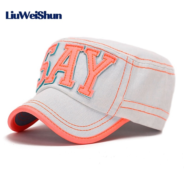 35a7b9f8 US $12.0  LIUWEISHUN Fashion Hat Baseball Caps for Youth Fitted Cap Women  and Men Flat Top Hip Hop Bone Snapback Hats Jean Sports Hat on ...