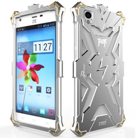 Para ZTE Yang 3 Cajas del Teléfono de Metal Marca Simon Verde Thor Serie Caso de la Cubierta de Aluminio De La Aviación para ZTE Yang 5.5 pulgadas