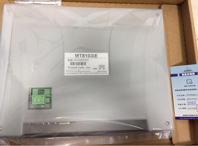 WEINVIEW MT8103IE 10.1 inch 1024x600 HMI New Original 1 year warranty weinview mt8150ie 15 inch 1024 768 hmi new original can replace mt8150x 13 months warranty