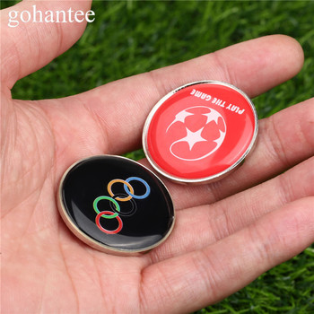 gohantee 2pcs Soccer Accessories Soccer Referee Selected Edges Toss Coins Table Tennis / Football Matches Referees Double Sides цена 2017