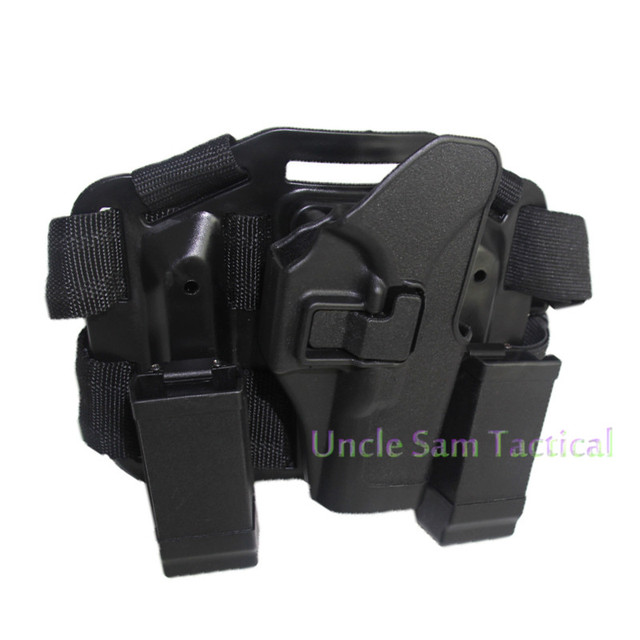 Tactical CQC Glock Leg Holster Military Combat Thigh Holster Hunting Shooting Gun Holsters For Glock 17 19 22 23 31 32 2