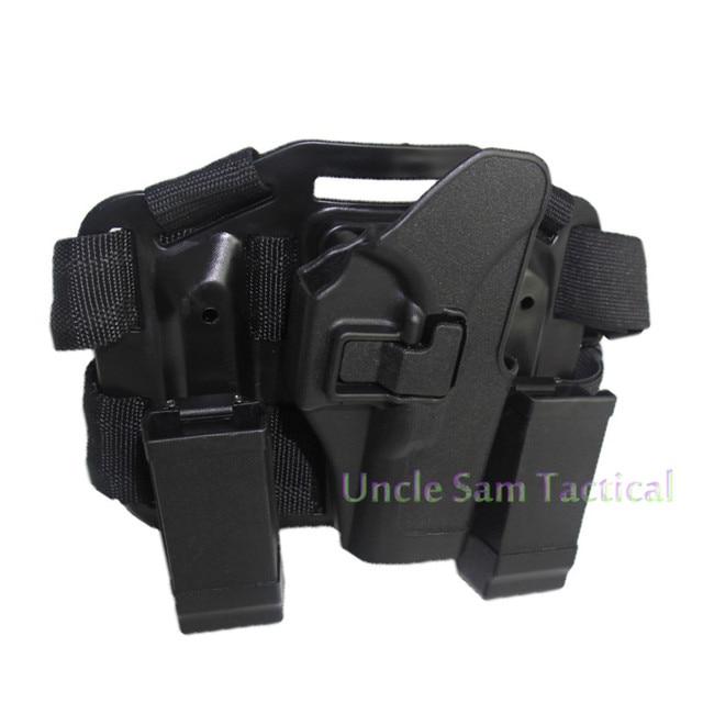 Tactical CQC Glock Leg Holster Military Combat Thigh Holster Hunting Shooting Gun Holsters For Glock 17 19 22 23 31 32 2