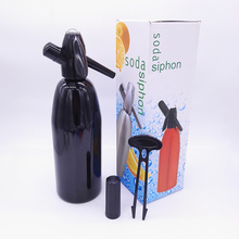 Шэньчжэнь поставщик оптом Сделай Сам алюминиевая Сода сифон 1.0L домашняя Сода воды производитель