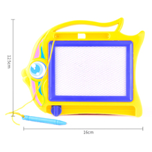 New 1PCS Children Writing Doodle Stencil Painting Magnetic Drawing Board Set Learning & Education