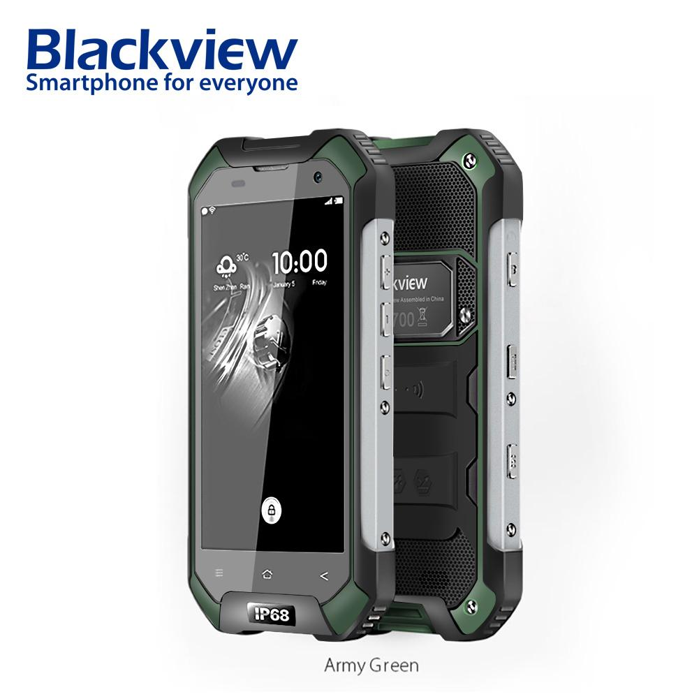 IP68 Wasserdichte Blackview BV6000S Smartphone 2 + 16 gb 8.0MP Android 7.0 Handy 4g 4,7 zoll HD MT6737T Quad core handy