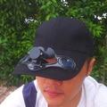 ELEGEEK Moda Chapéu de Sol Cap Hat Energia Solar Com Ventilador de Refrigeração para Outdoor Golf Baseball Ciclismo Caminhadas Transporte do Cargo de Livre