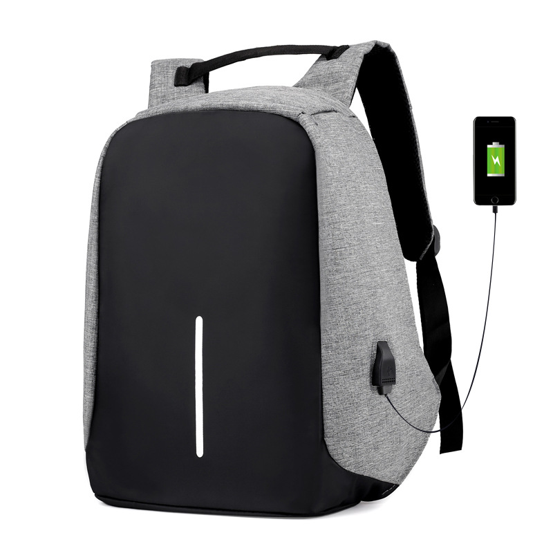 Real Rushed Mochila Feminina Popular Function Computer Bag Anti Theft Protector Mens Casual Backpack Usb Charging Bagpack